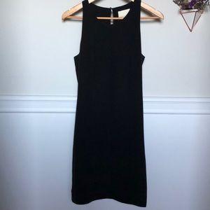 Cynthia Rowley 100% silk slip dress, slate gray